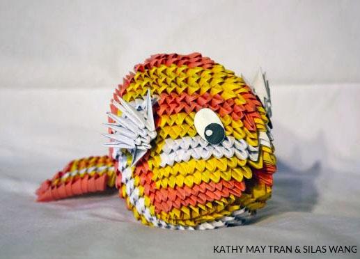 origami fish koi | how to make origami fish koi – Pet Lovers News | 372x517