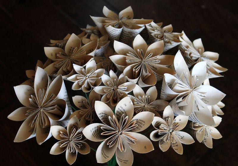 Paper Flowers Kathy May Silas