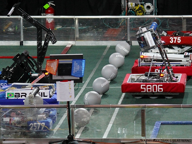 Robots at the starting line
