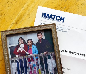 KevinMD.com Publishes Kathy May's Match Day Reflection