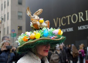 NYC Easter Day Bonnet Parade 2016
