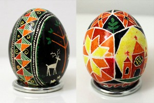 Pysanky: Part 1 – Our First Ukrainian Easter Eggs